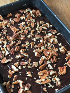 Pecan chocolate brownie
