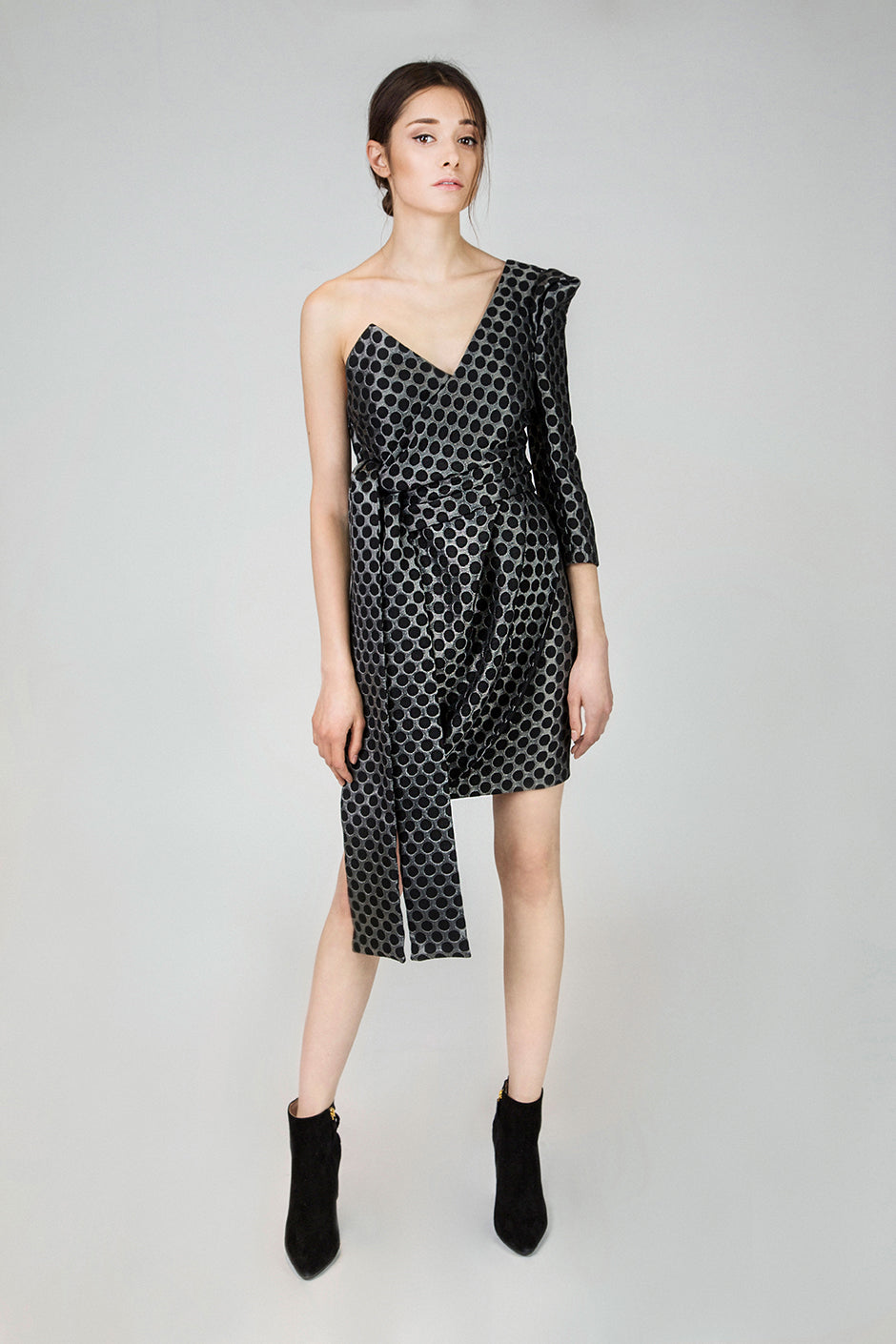 Taylor Dotted Cotton Dress