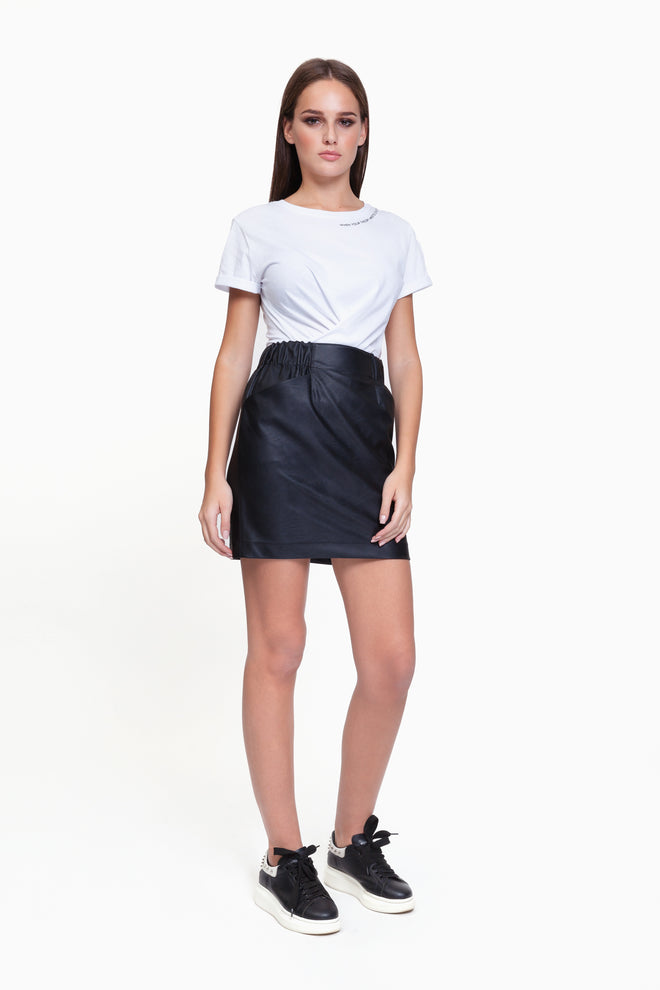 Ella Black Skirt