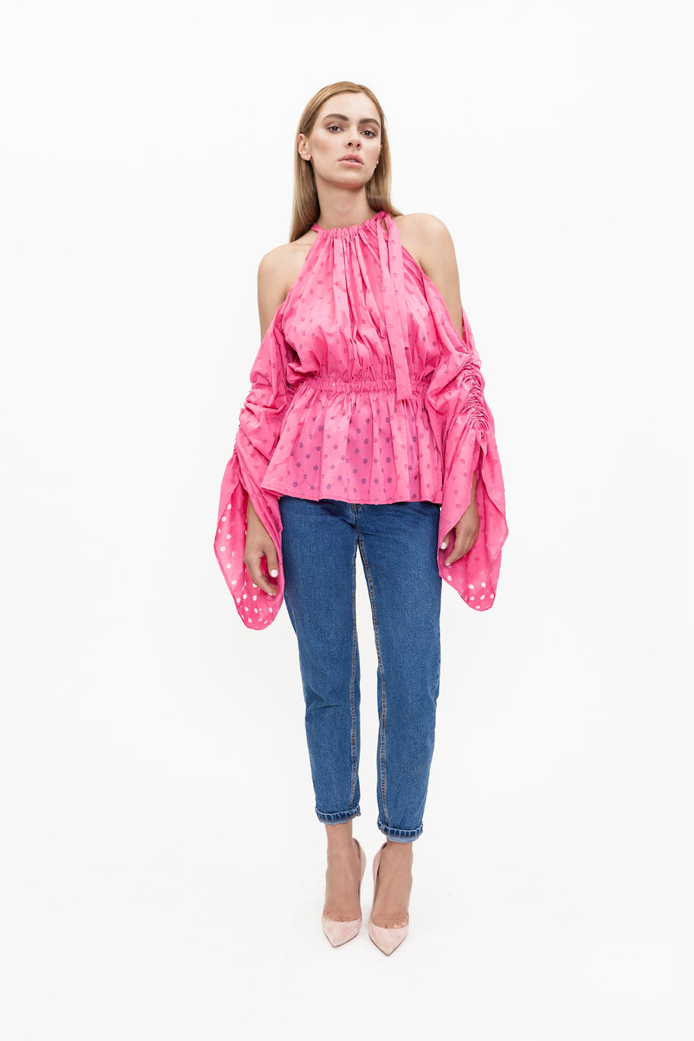 COLETTE pink top