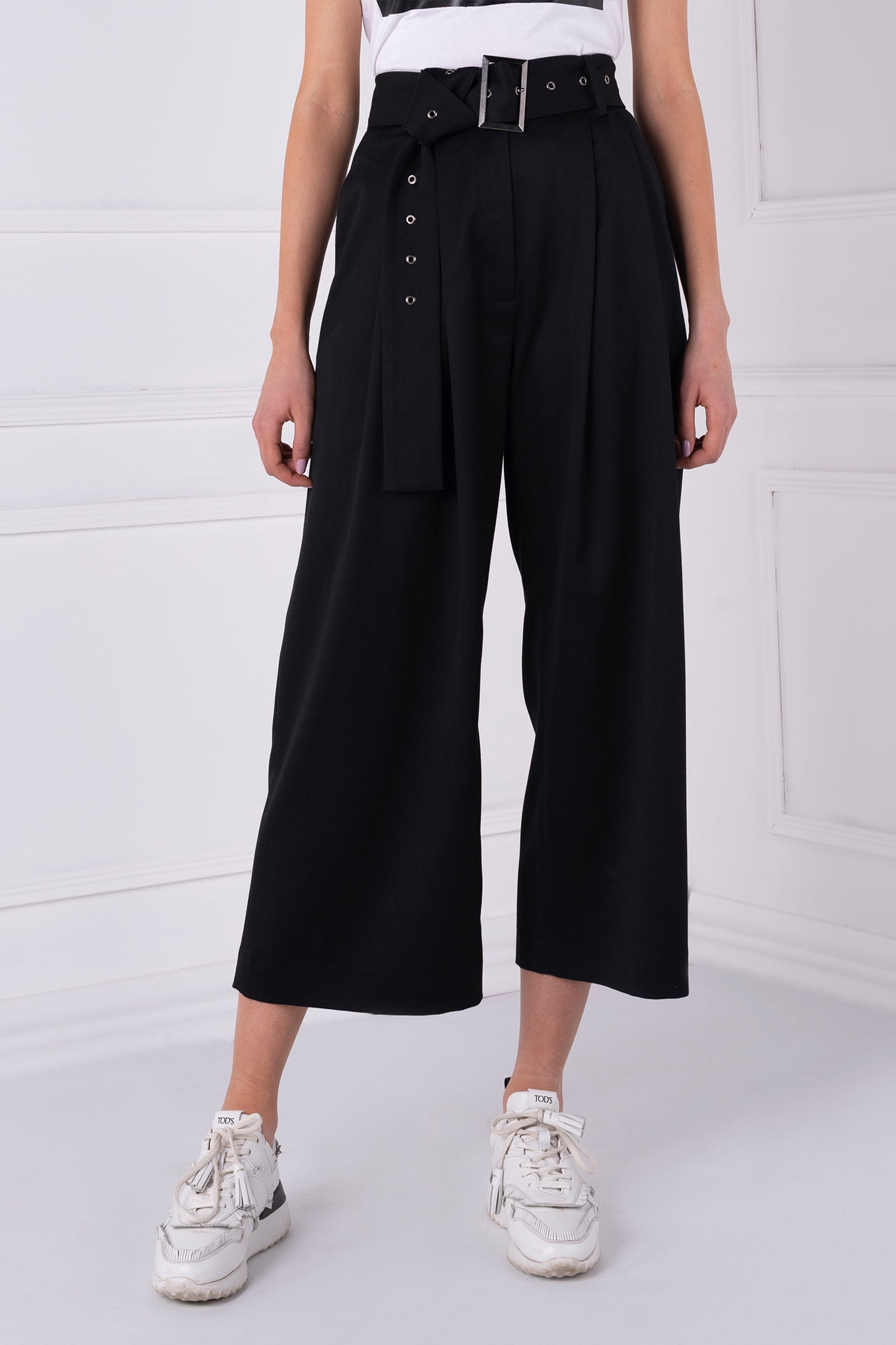 Amara Black Trousers