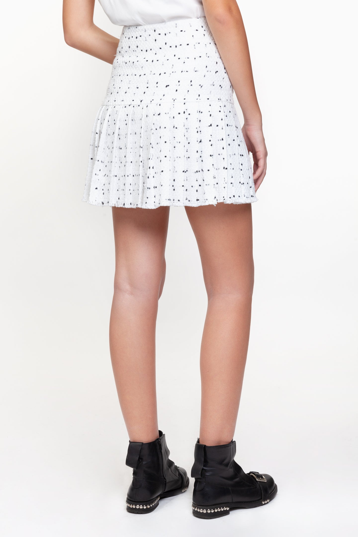 Elsie White Skirt