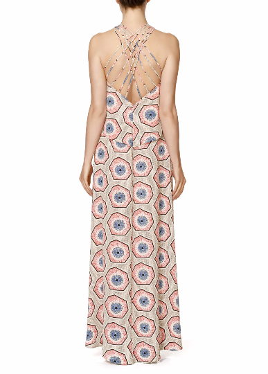 Summer Backless Maxi Dress