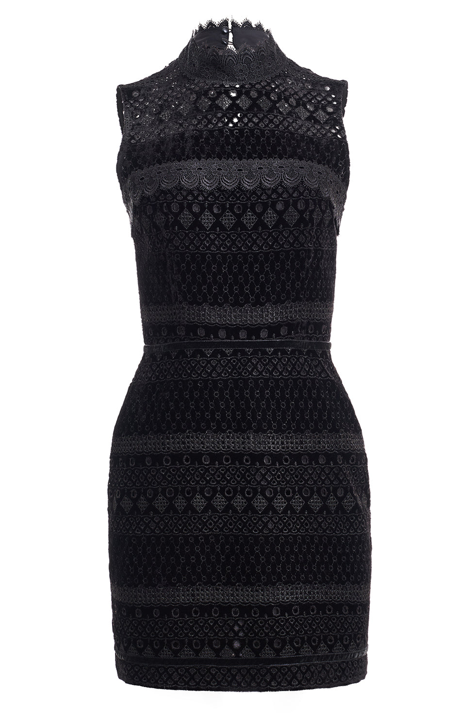 Chantelle Velvet Lace Dress