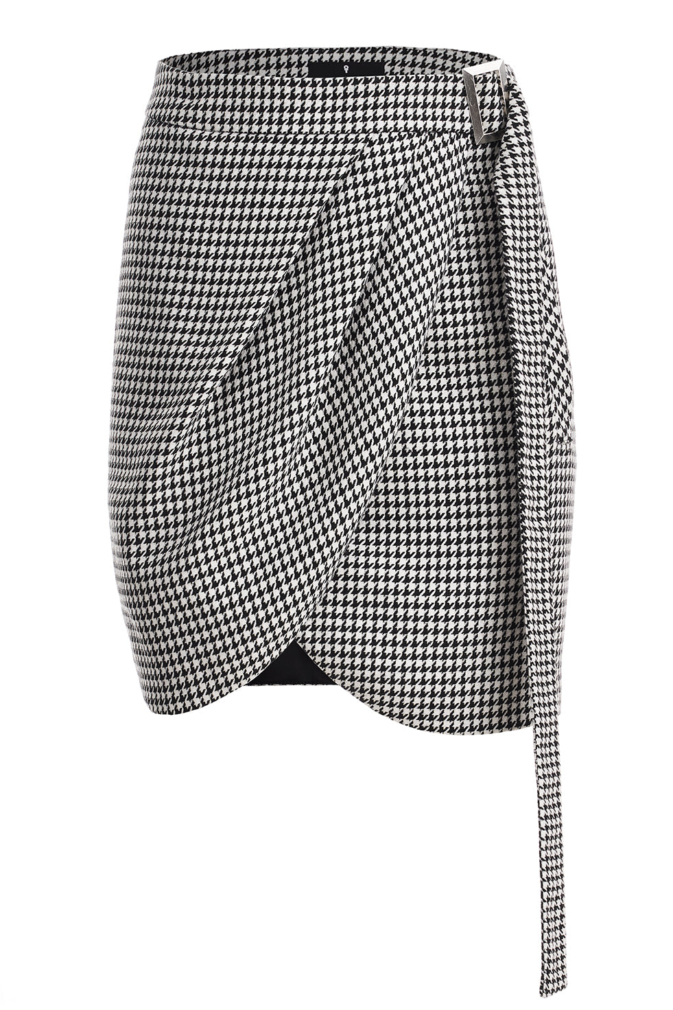 Jhonnes Gingham Wrap Around Skirt