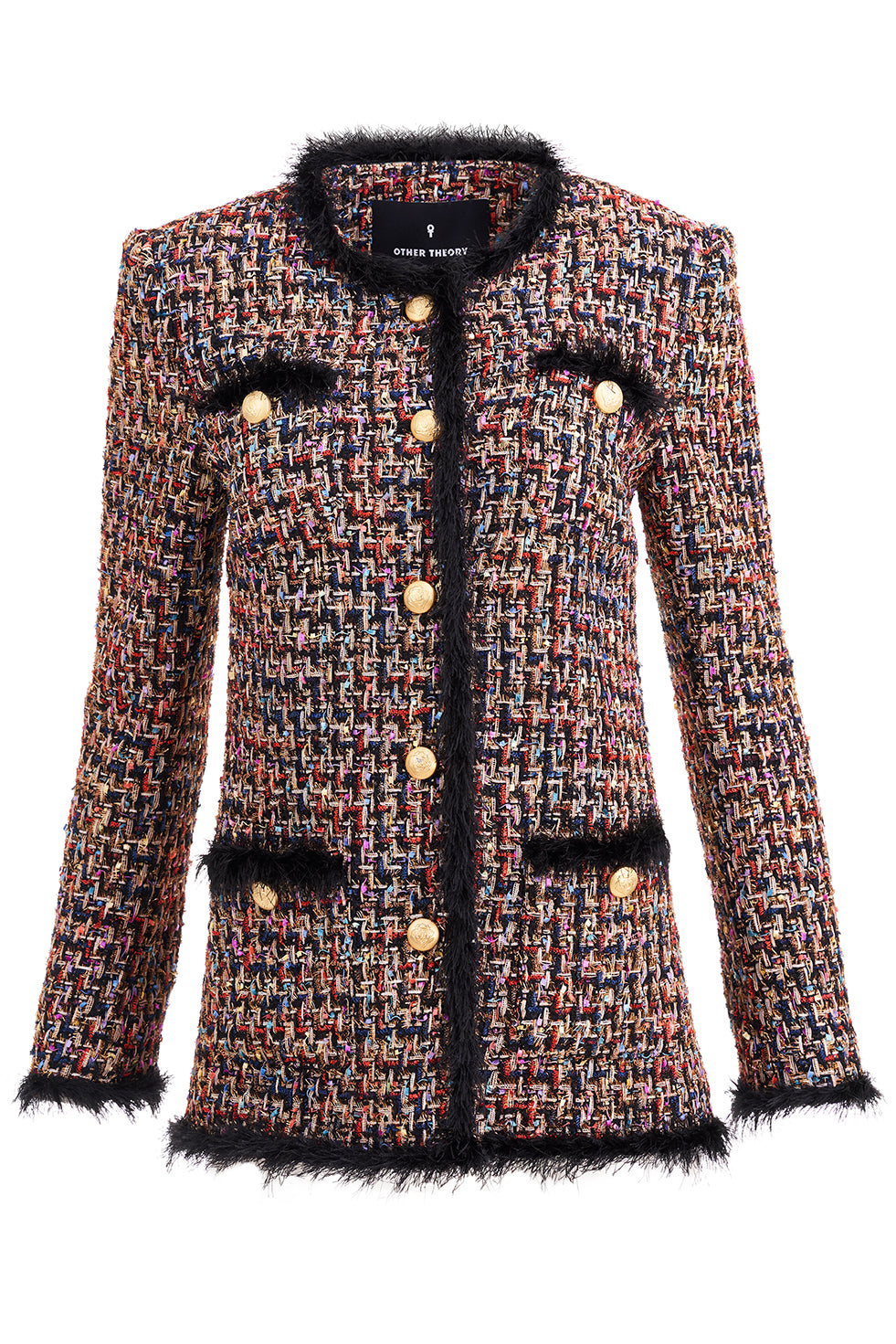 Eliana Embellished Tweed Jacket