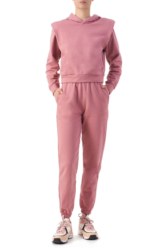 EDITH Rose pink OTHER THEORY SIGNATURE JOGGERS