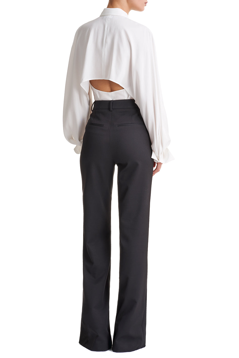 Sienna Wide Leg Button Trousers