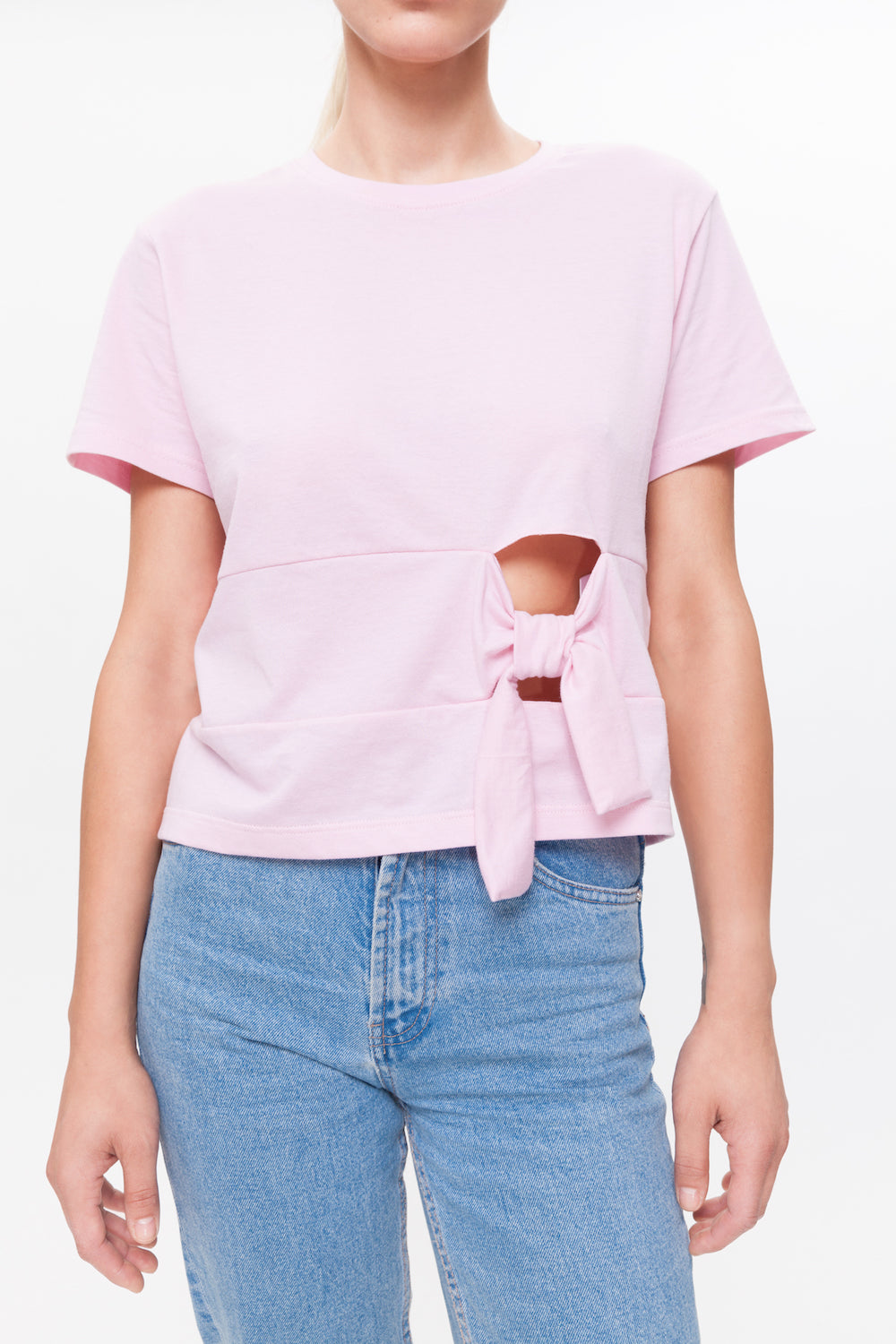 EDITH pink top
