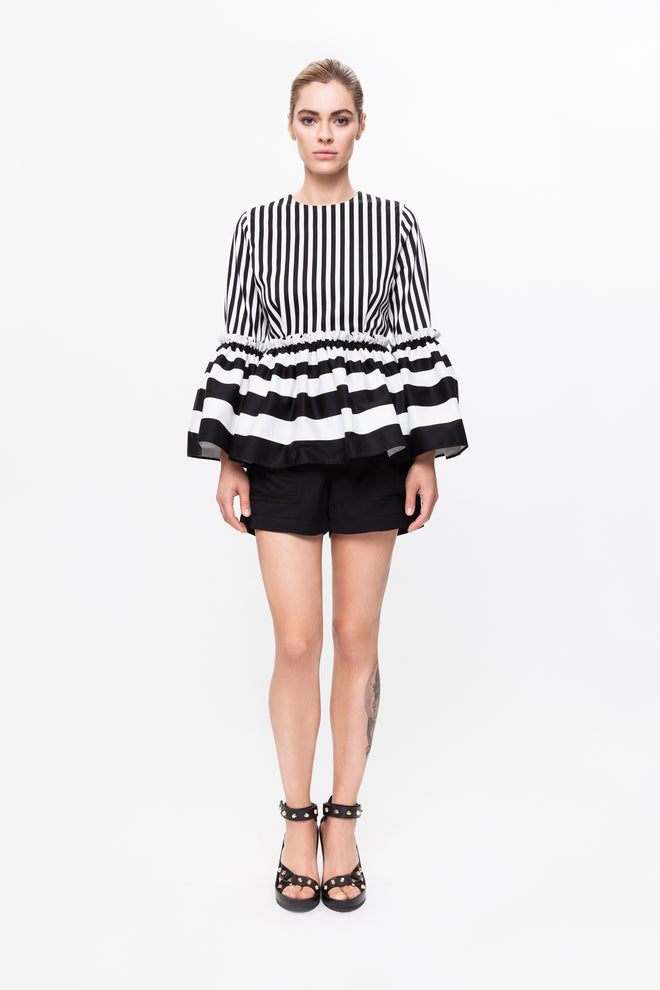 AMELIA Striped Shirt