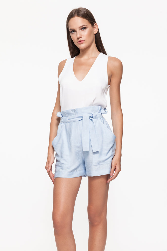 ESTHER Light Blue Shorts