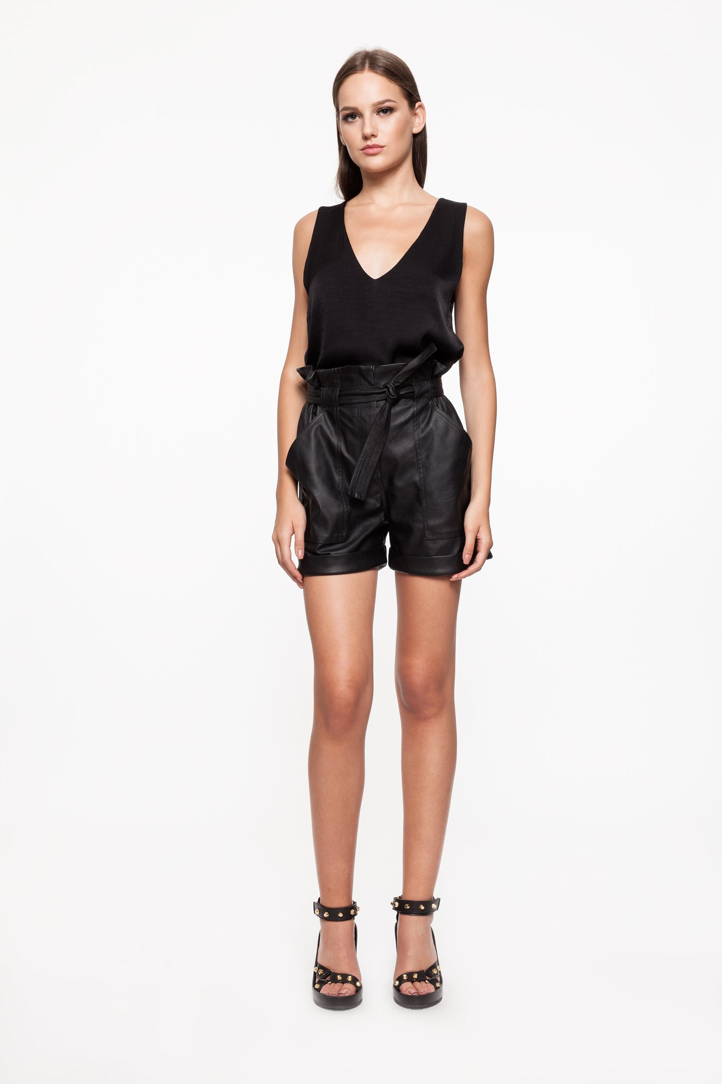 ROSY Black Short Pants