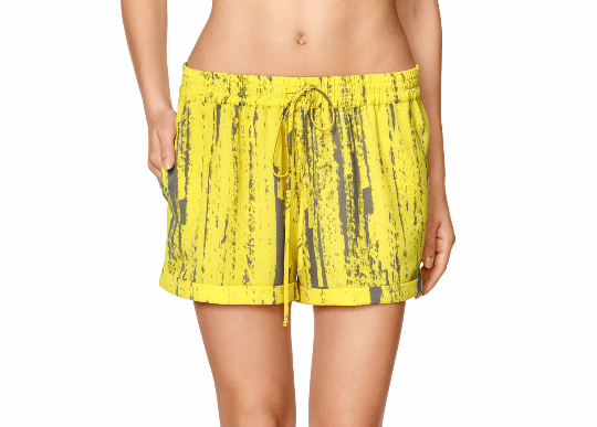 Yellow Summer Shorts