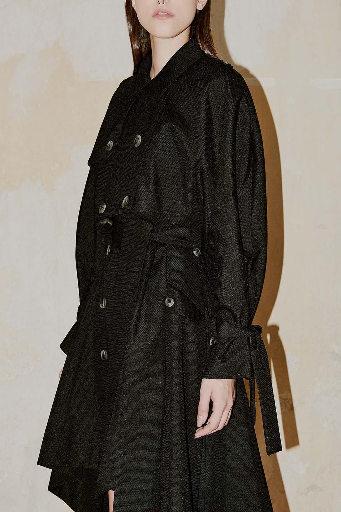 MAYFAIR black half trench