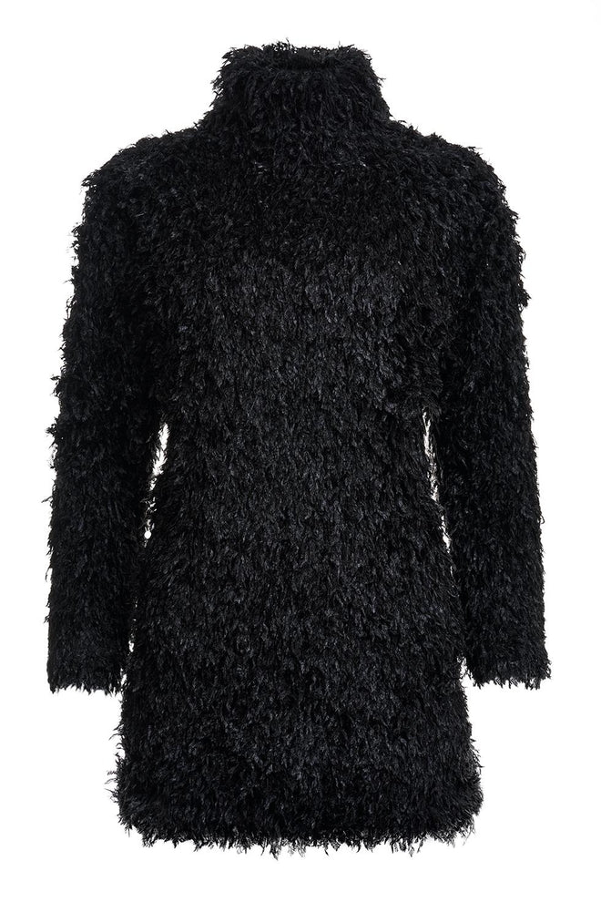 Delilah Fluffy Polo Dress
