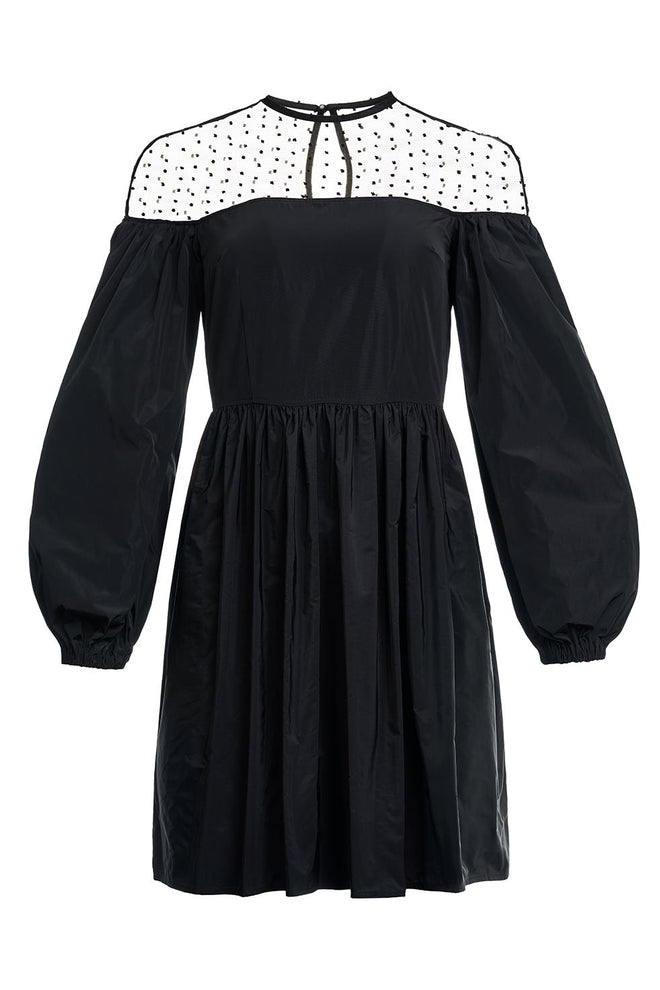 Roberta Voluminous Sleeve Dress
