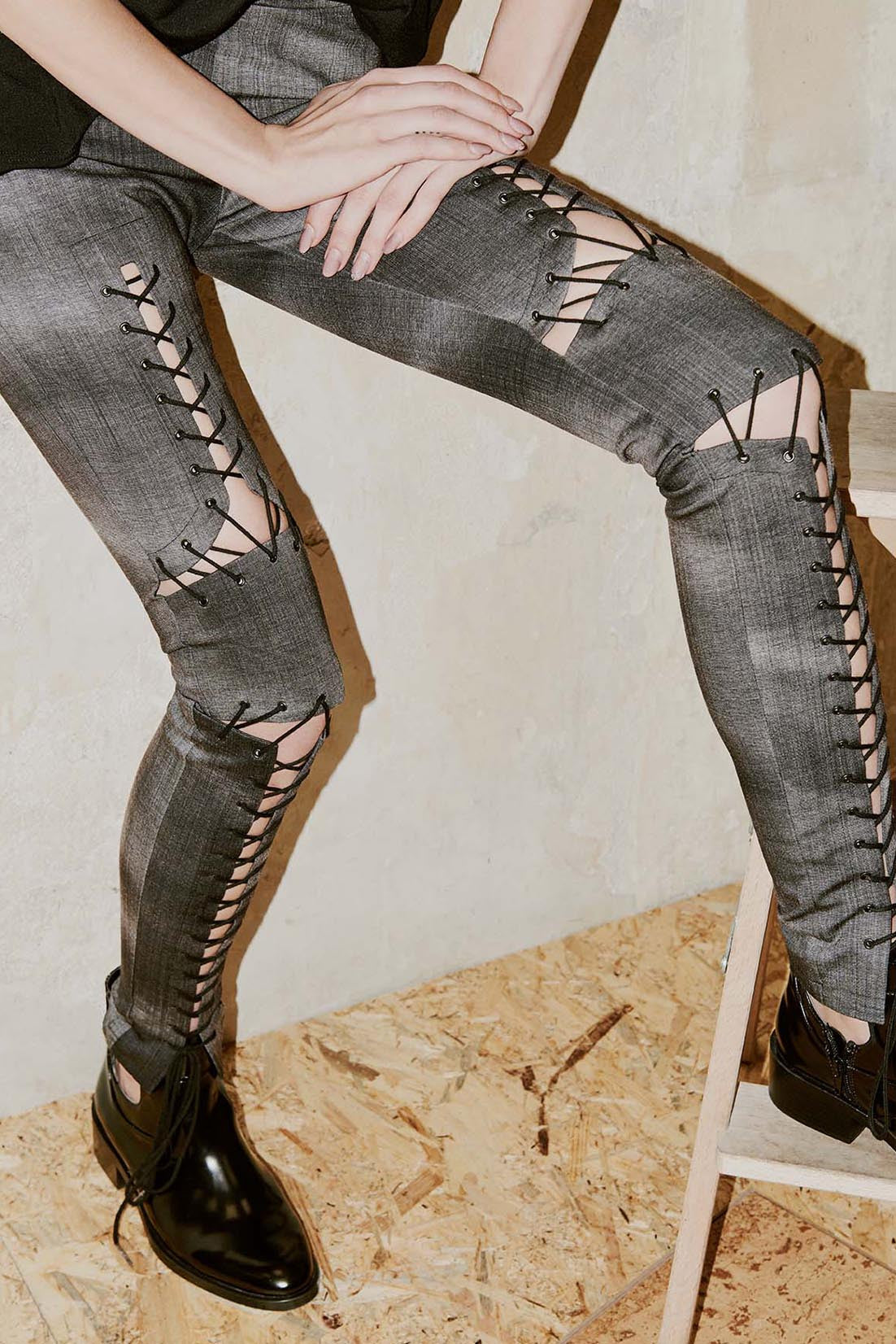 ZAHA stitched leggings
