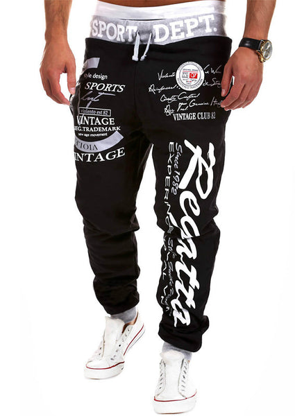 Joggingbukser til mænd - Men's Fashion Sport Joggers Pants