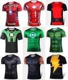 MARVEL Superhelte T-Shirt til mænd - Marvel Super Hero tights sport T-shirt