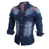 Klassisk herreskjorte - Classic Men's Denim Shirt