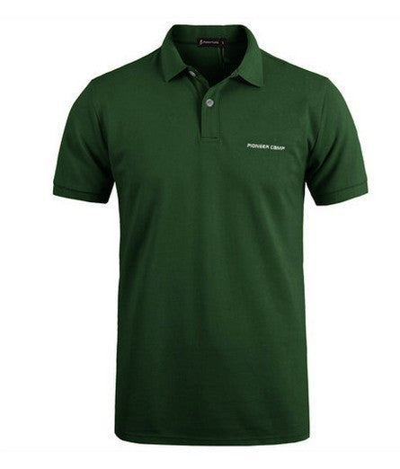 Klassisk Polo Shirt til mænd i MØRKEGRØN - Classic Men Polo Shirt