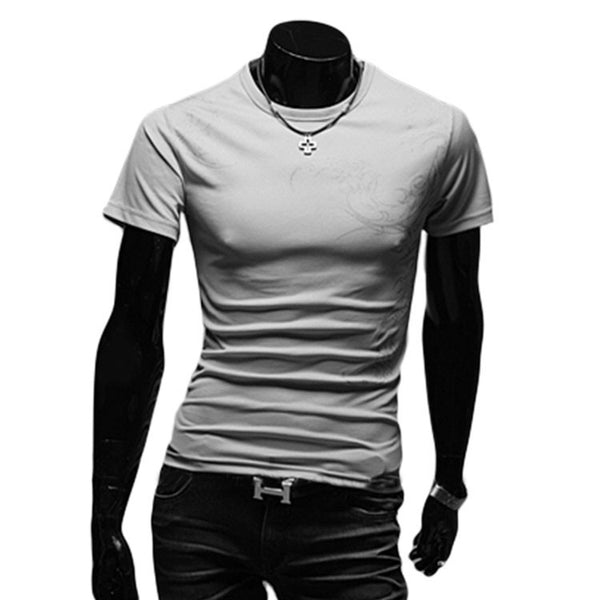 T-Shirt til mænd med korte ærmer- new men's casual fashion t-shirt whit Short Sleeve