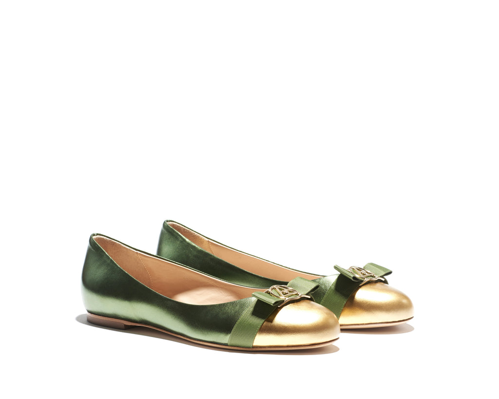 B1621005 JOY metallic green