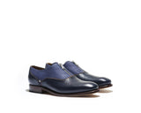 B1611013 - Oxford with Zip men shoe ( Sporty Nabuck) - Flag