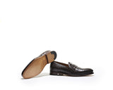 B1611010 - Loafer oxford men shoe (embossed) - Date