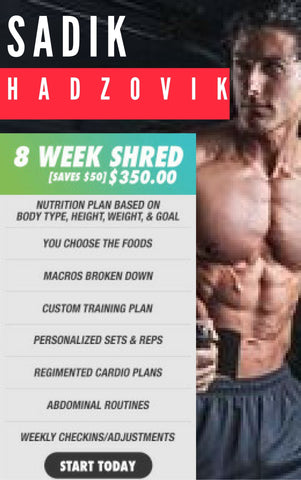8 Week Shred Plan
