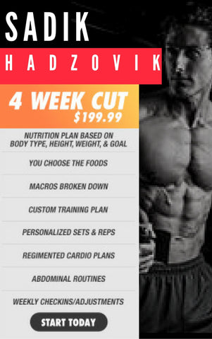 4 Week Cut Plan