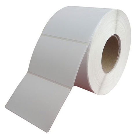 Labels, 40mm (W) x 24mm (H), thermal direct, permanent adhesive, A-Grade, white, paper, 28 rolls per box