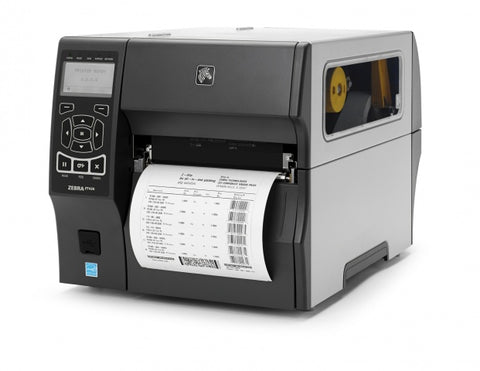 Zebra ZT420 6 Inch Label Printer Thermal Transfer 300DPI USB Serial Ethernet Bluetooth