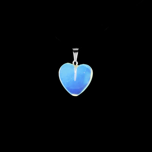 Heart Opalite Gemstone Pendant [1 of 1]