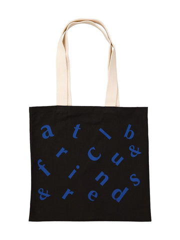 Logo Tote Black - Artclub and Friends