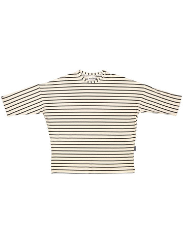 Cream Stripe 3/4 Tee