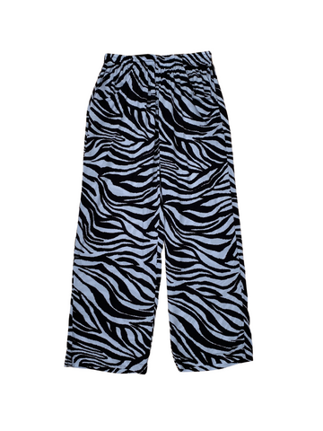 Zebra Wide-leg Elasticated Trouser