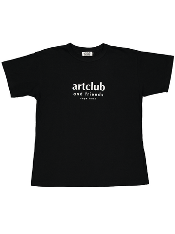 Original Tee Black - Artclub and Friends