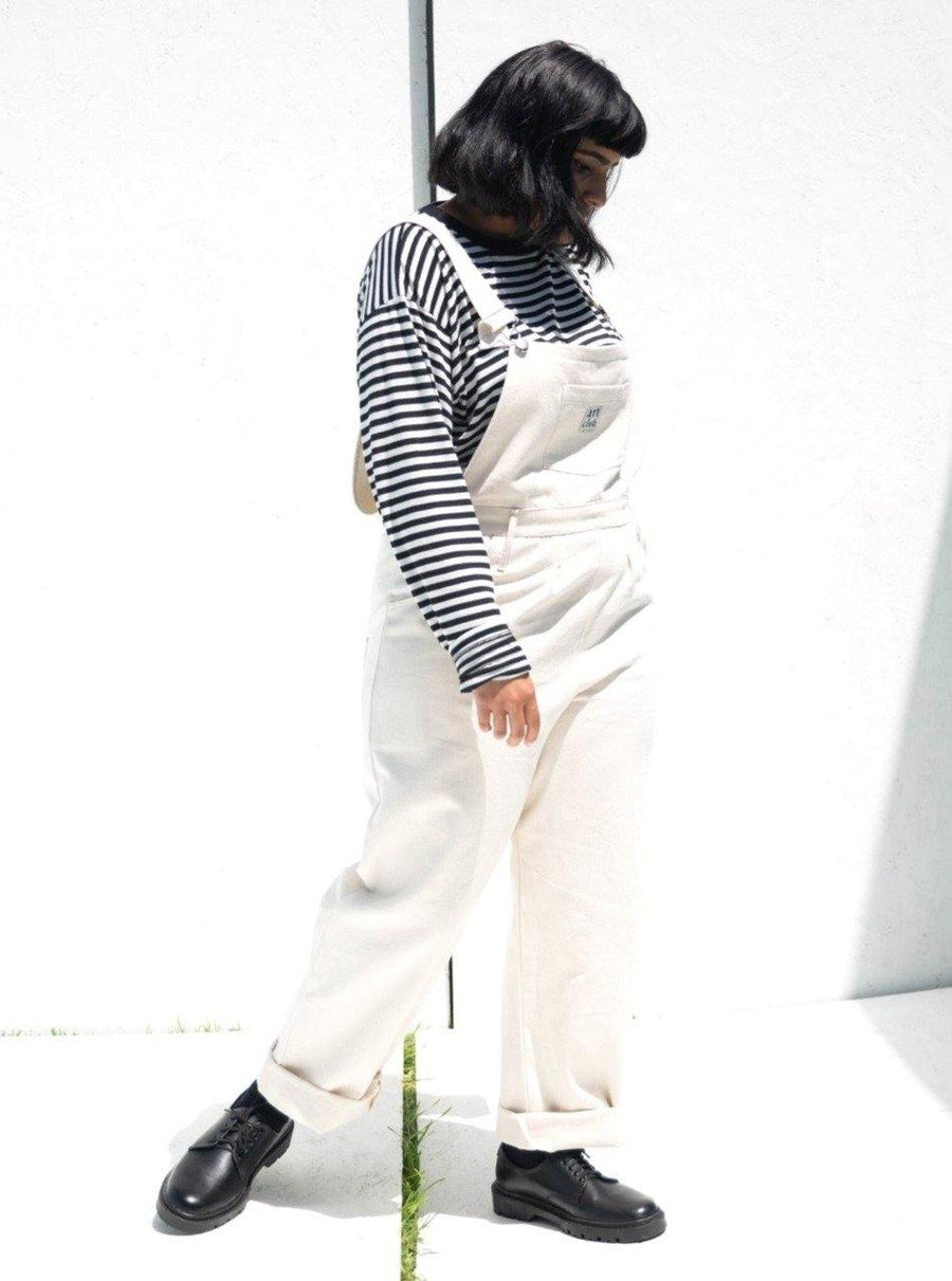 Natural Denim Dungarees - Artclub and Friends