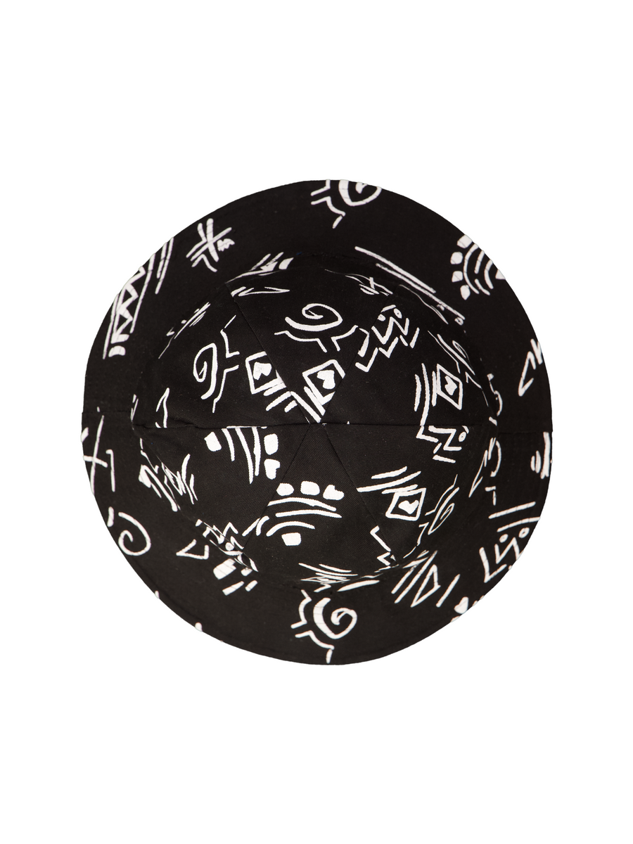 Reversible 6 Panel Black - Artclub and Friends
