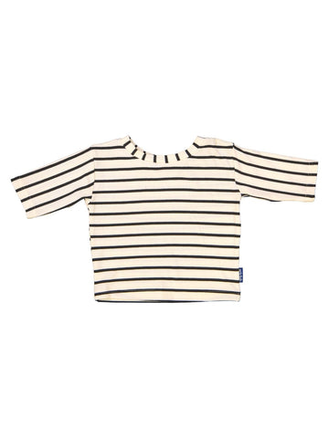 Kids Cream Stripe Tee