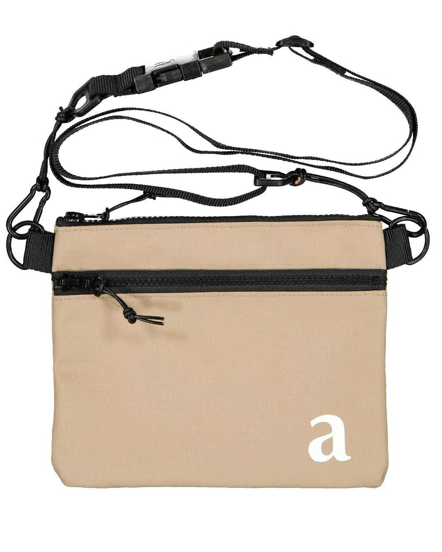 Beige Artclub Tech Bag