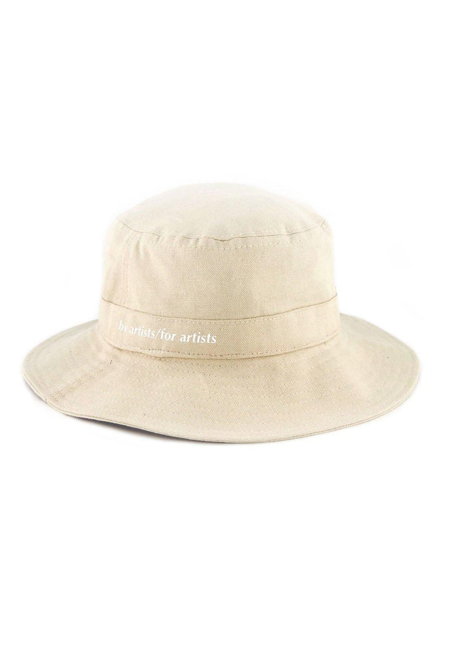 Cotton Bucket Hat- Beige