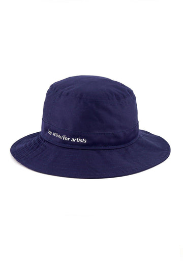 Cotton Bucket Hat- Navy