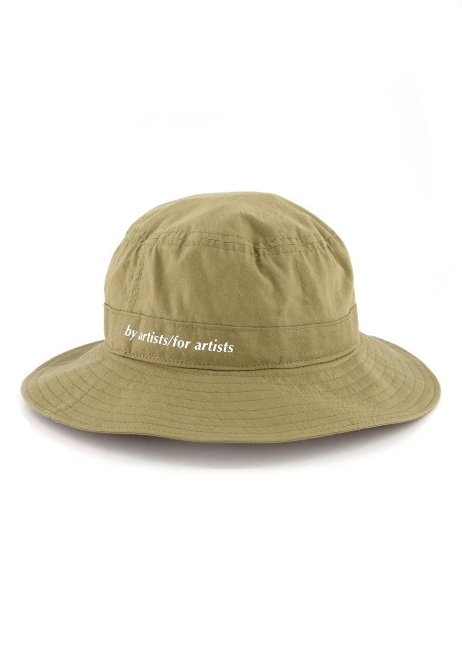 Cotton Bucket Hat- Olive
