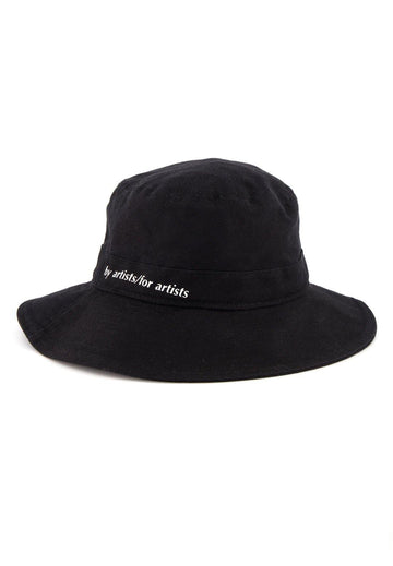 Cotton Bucket Hat- Black