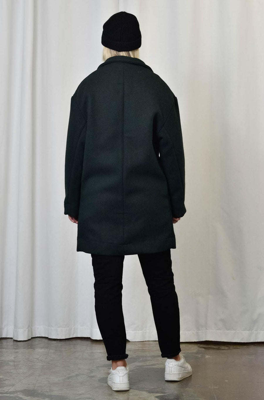 Unisex Coat in Green - Artclub and Friends