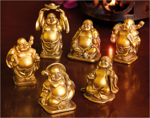 Maison & Garden - Set of 6 Mini Buddhas in Gift Box - Shop all Giftware