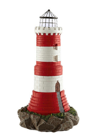 Maison & Garden - Solar Powered Light House Garden Ornament