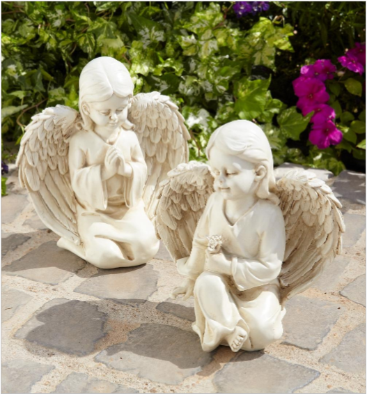 Maison & Garden - Set of 2 Angel Ornaments - Shop all Giftware